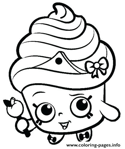 418x500 New Coloring Sheets Of Shopkins Or Coloring Pages Season