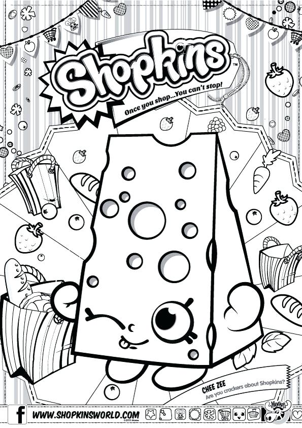 595x842 Shopkins Printable Coloring Pages Coloring Pages Fun