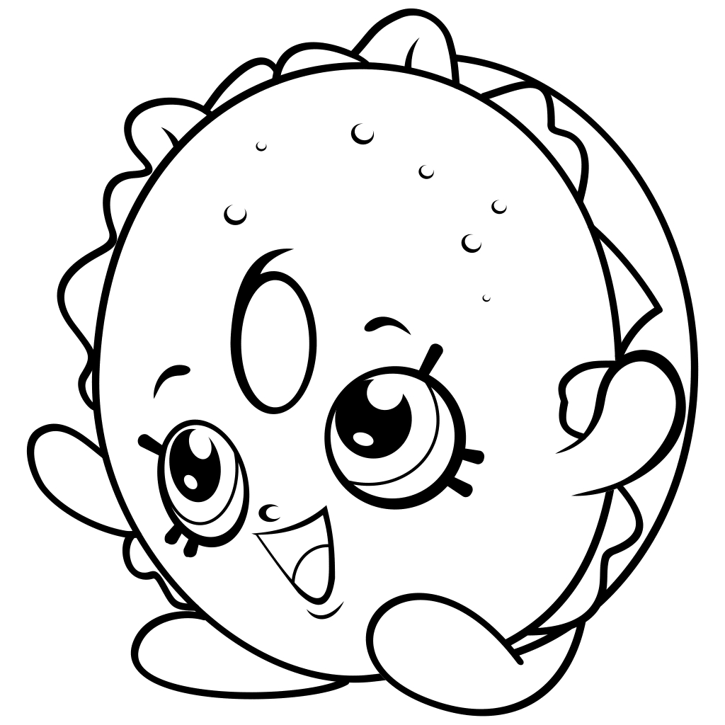 1024x1024 Fresh Shopkins Coloring Pages Season Gallery Printable