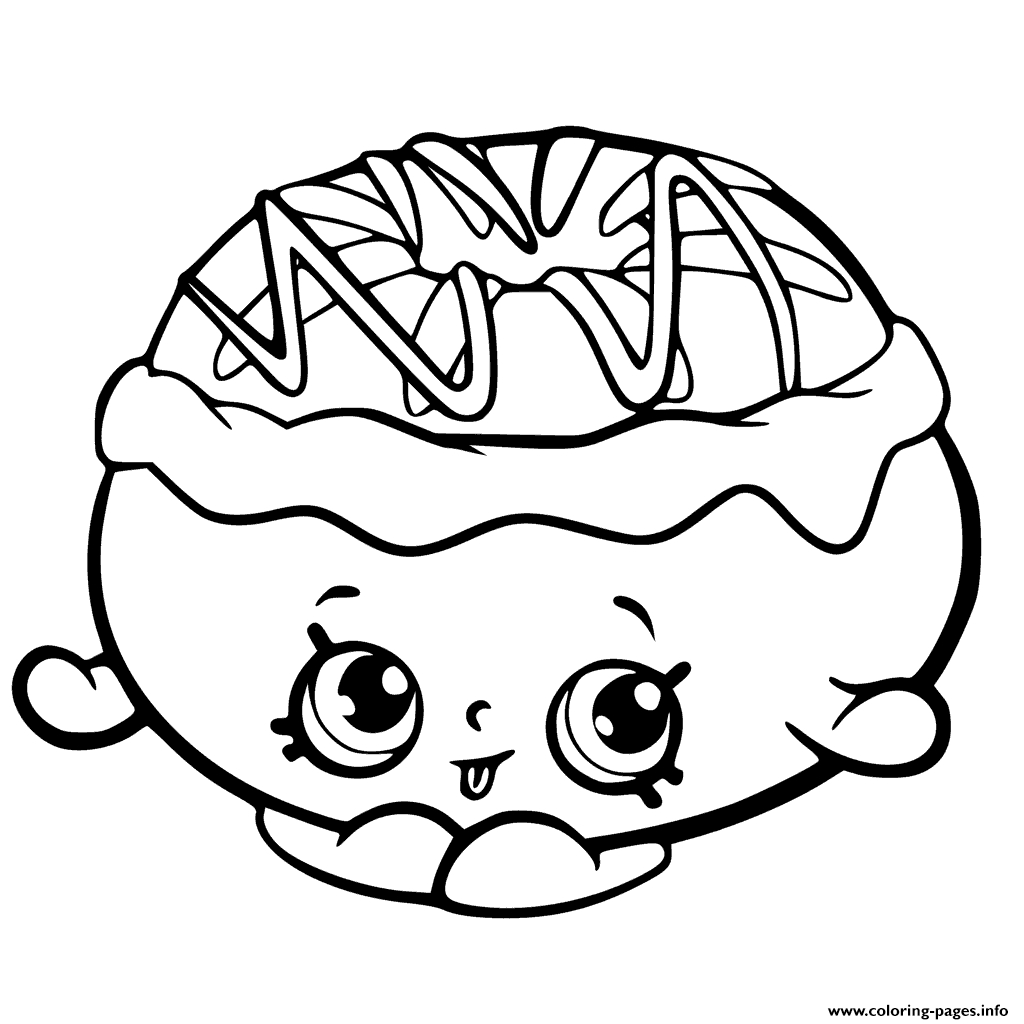 Shopkins Coloring Pages Season 6