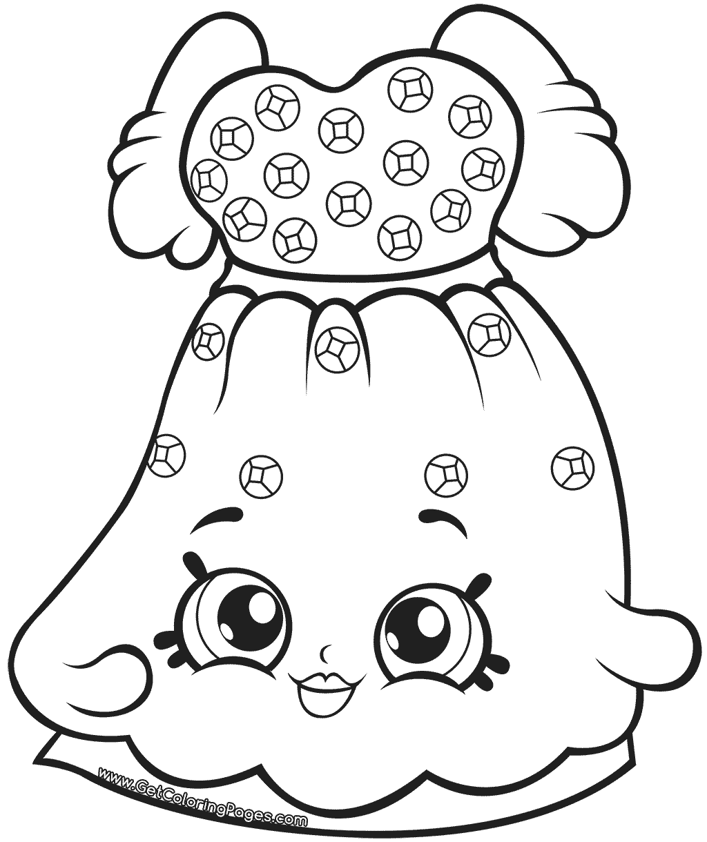 Shopkins Coloring Pages Season 7