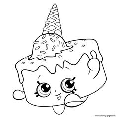 236x236 Print Cake Wishes Shopkins Season From Coloring Pages Shopkins