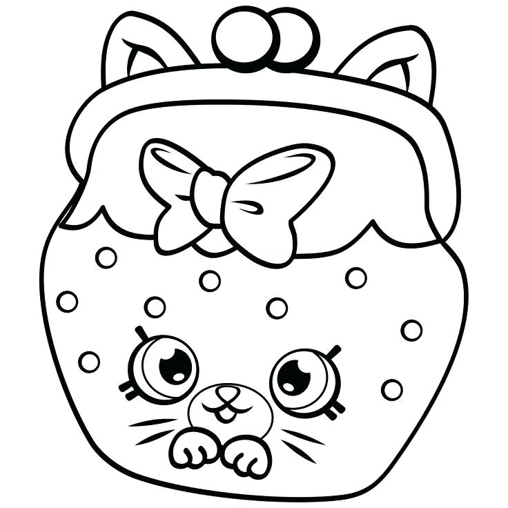 736x736 Shopkins Coloring Pages Season Limited Edition Elegant Sheets