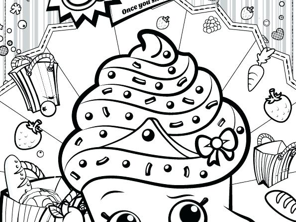 595x445 Shopkins Coloring Sheets Medium Size Of Coloring Pages To Print