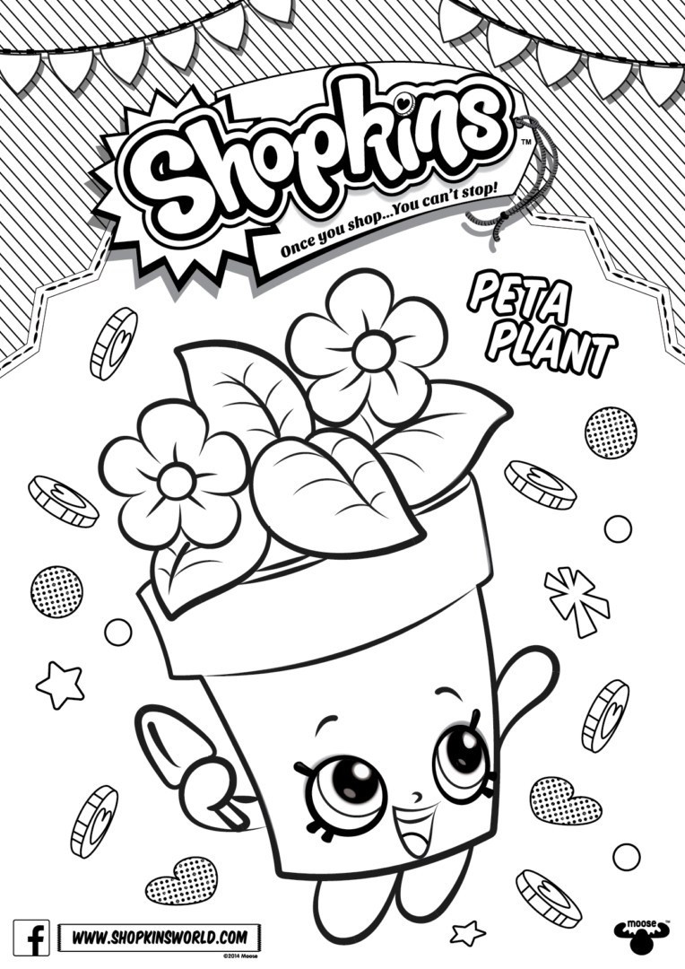 764x1080 Shopkins Coloring Pages Snow Crush