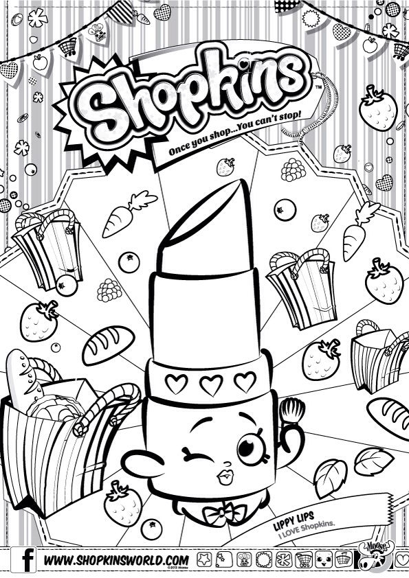 595x842 Shopkins Coloring Pages Snow Crush Best Shopkin Images