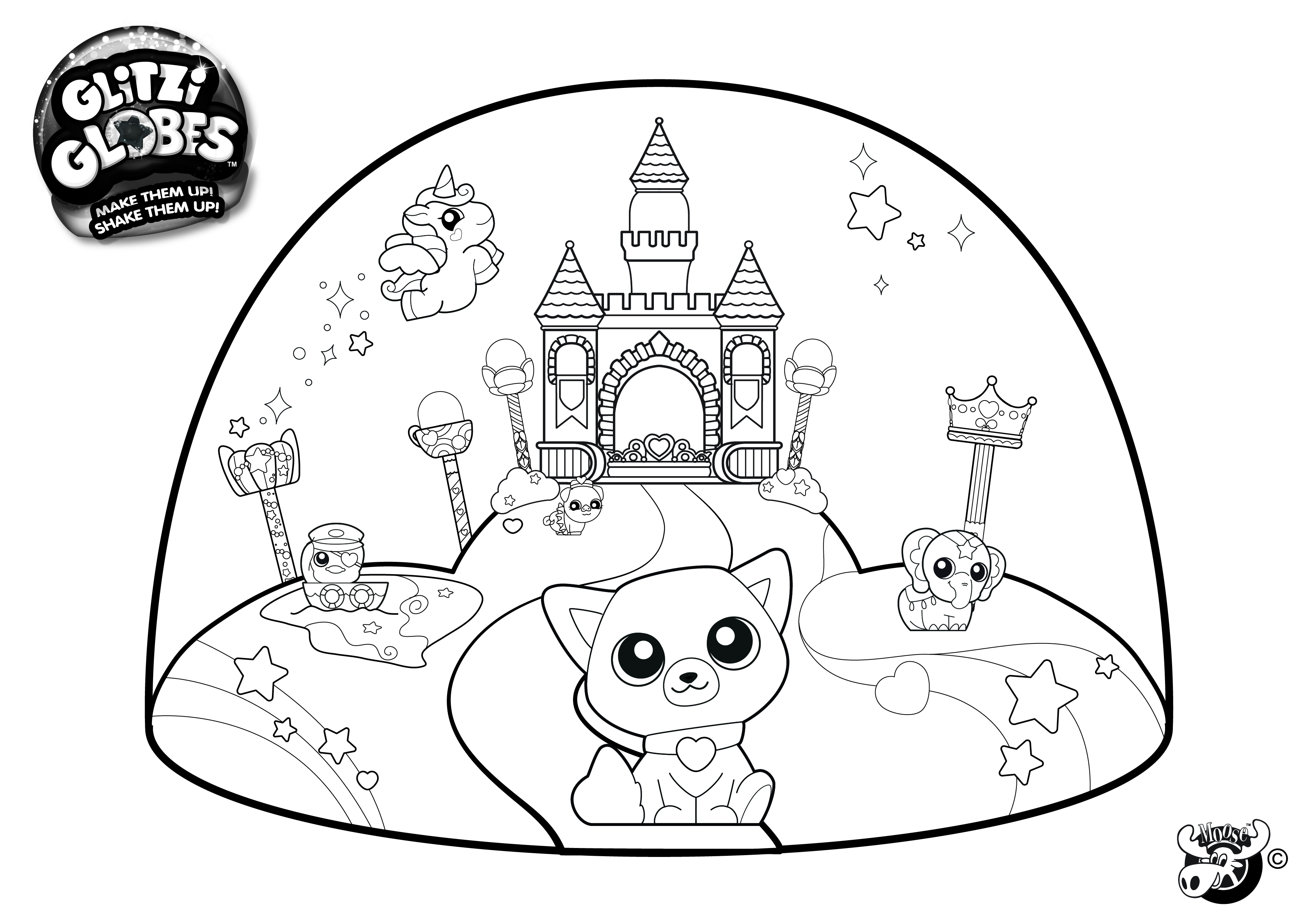 3508x2480 Shopkins Coloring Pages Snow Crush Printable Tshopkins Coloring