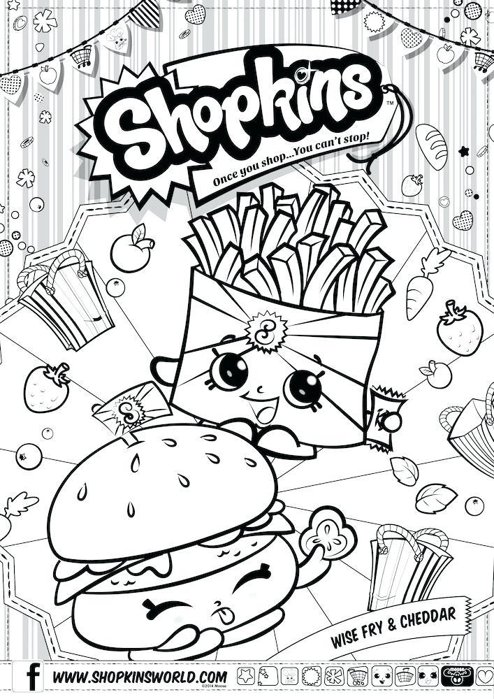 707x1000 Shopkins Coloring Sheets Shopkins Coloring Pages Season