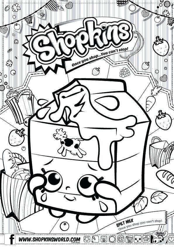 595x842 Shopkins Coloring Pages