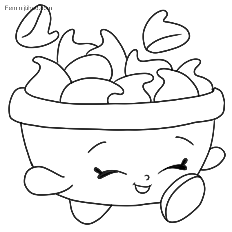 Shopkins Coloring Pages To Print Out