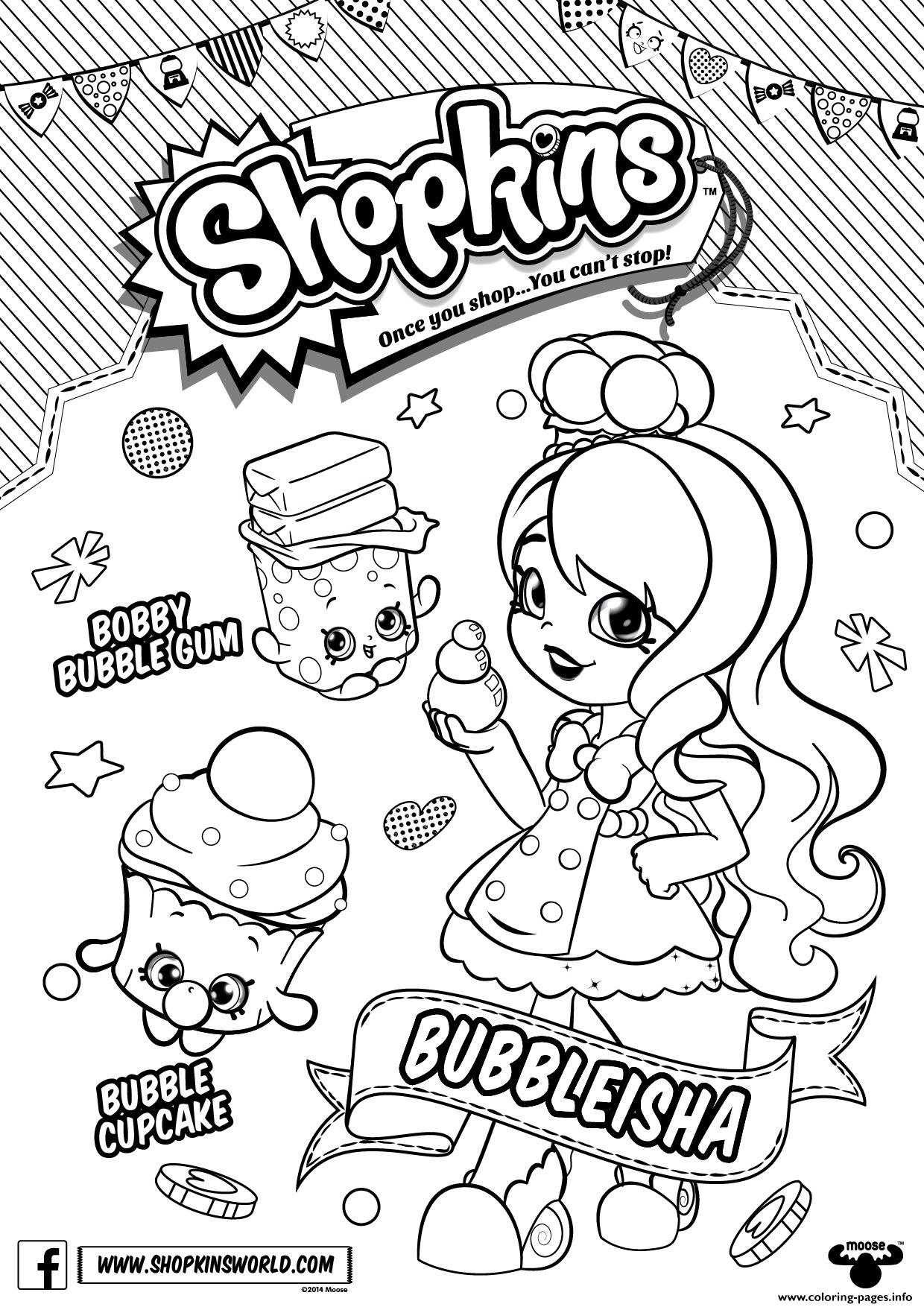 1240x1754 New Shopkins Coloring Pages To Print Out