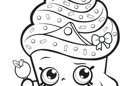 469x304 Shopkins Coloring Sheets Coloring Pages Cupcake Queen Shopkins