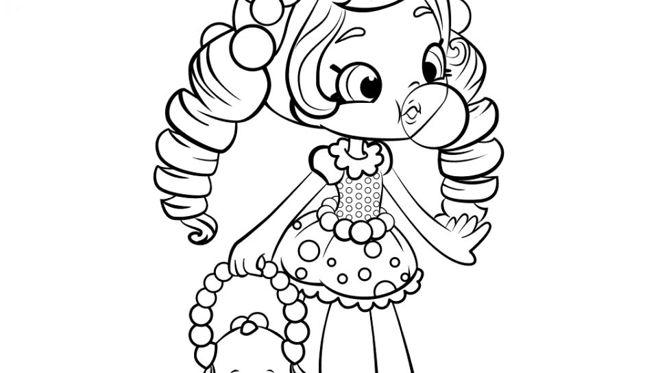 Shopkins Dolls Coloring Pages at GetDrawings | Free download