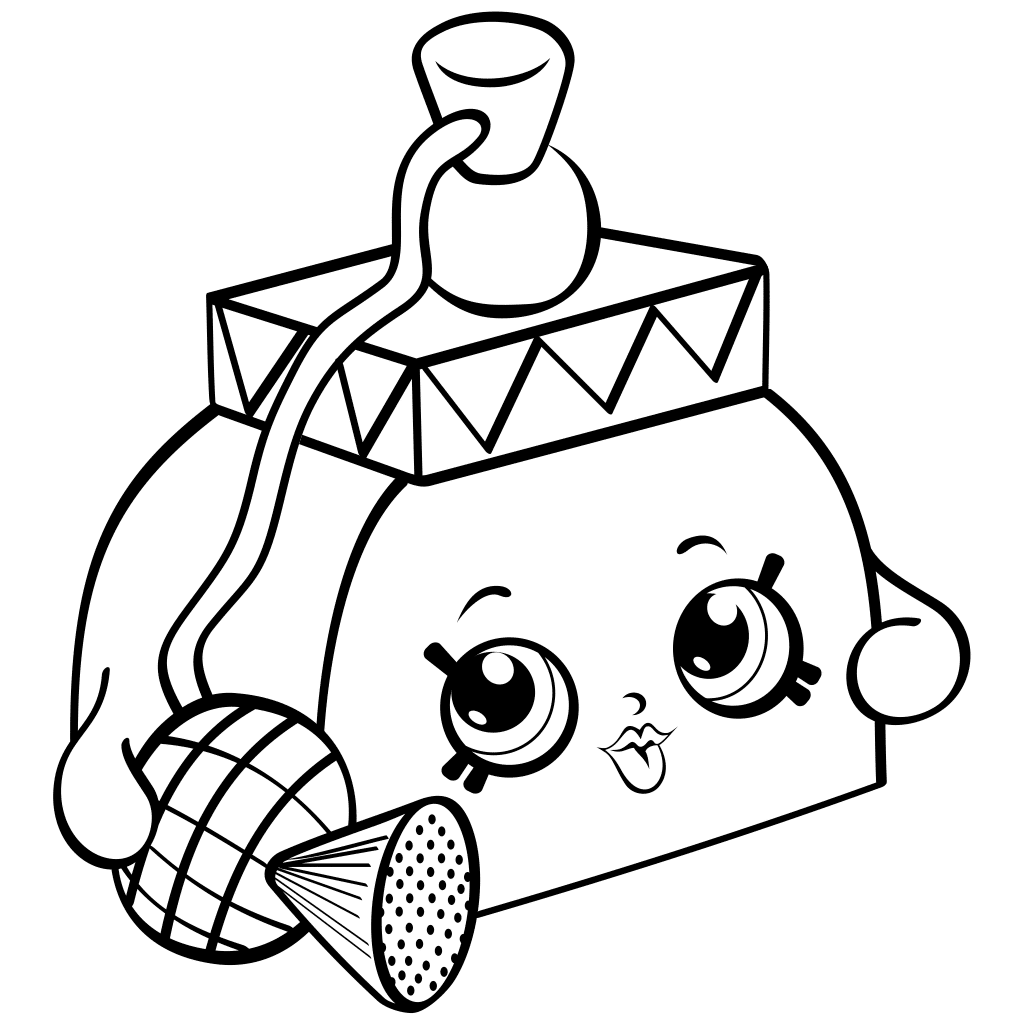 photograph regarding Printable Shopkin Coloring Pages known as Shopkins No cost Printable Coloring Internet pages at