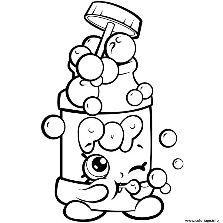 Shopkins Happy Places Coloring Pages