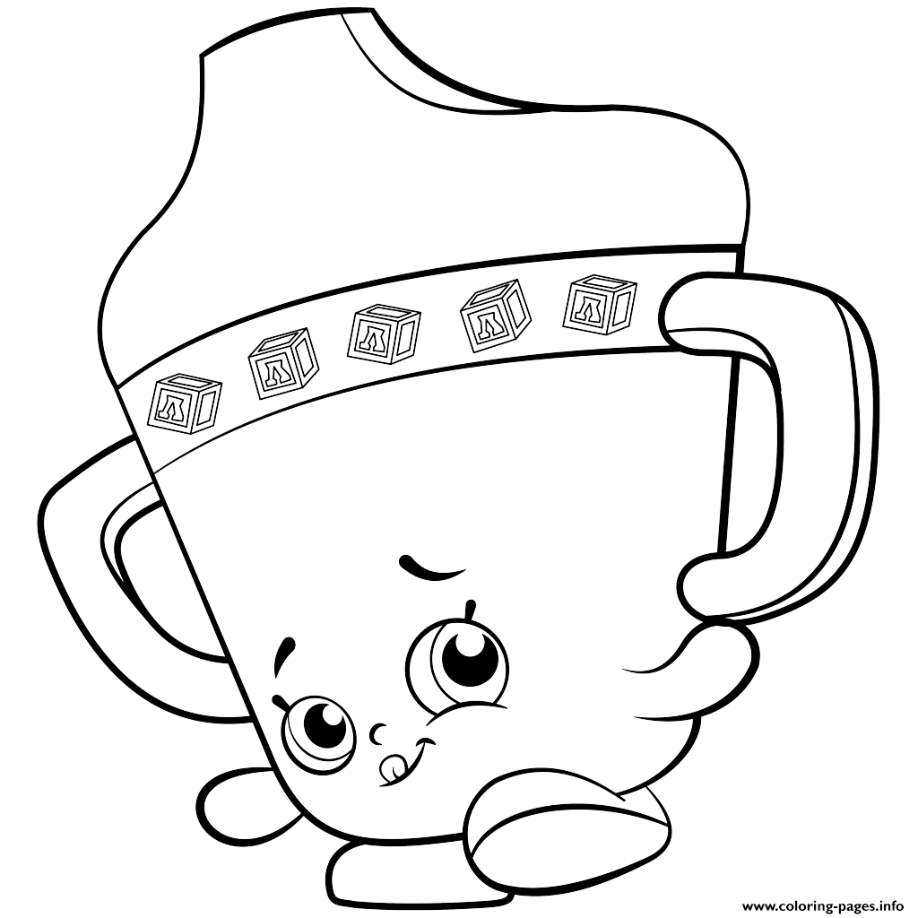 Shopkins Happy Places Coloring Pages At Getdrawings Com