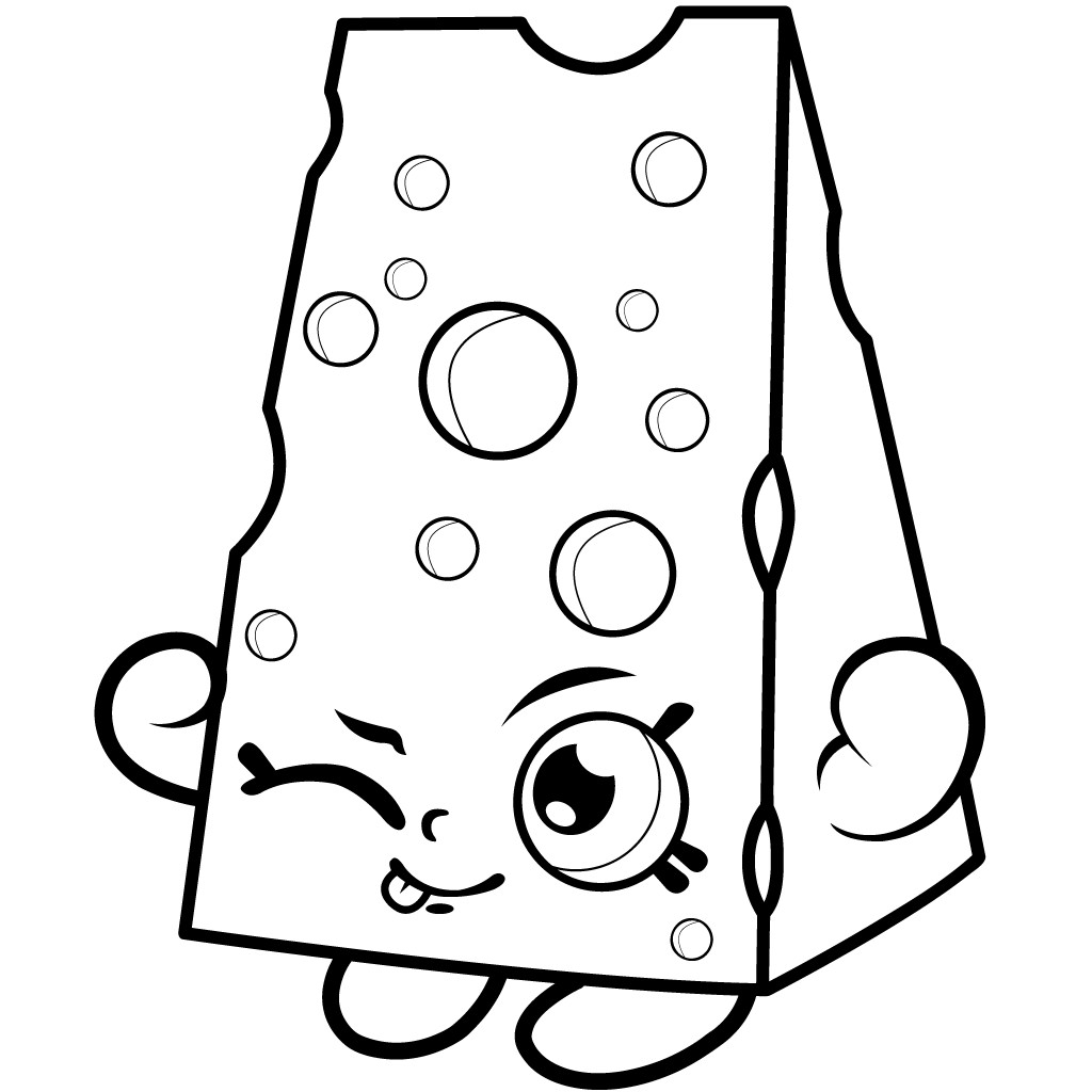1024x1024 Free Lippy Lips Shopkins Coloring Page Pages D