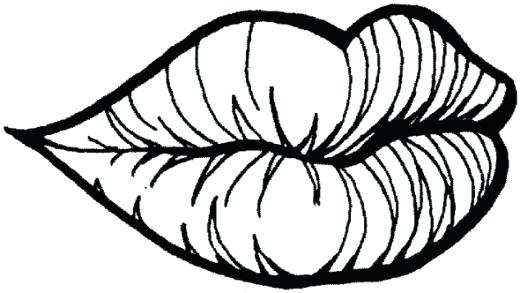 520x293 Lips Coloring Pages Coloring Pages For Kids Mouth Lips Teeth Lippy
