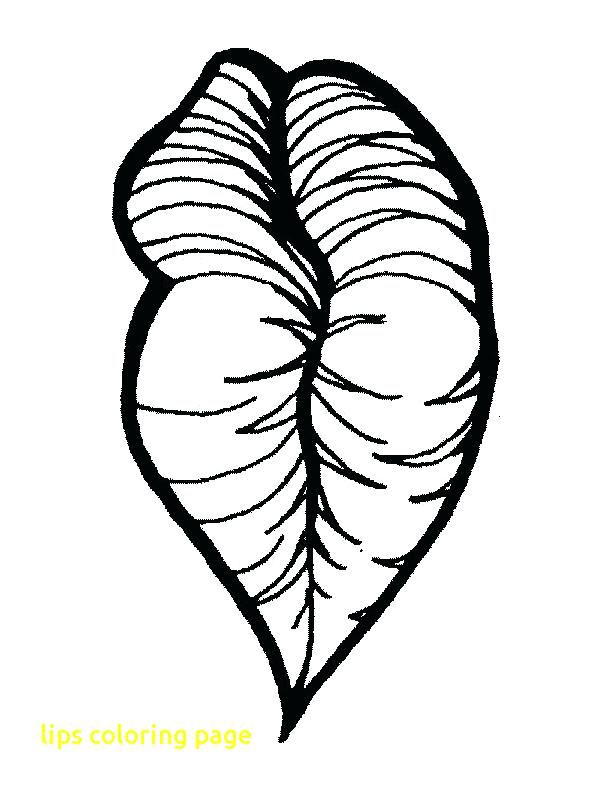 612x792 Lips Coloring Pages Lips Coloring Page With Lips Coloring Pages