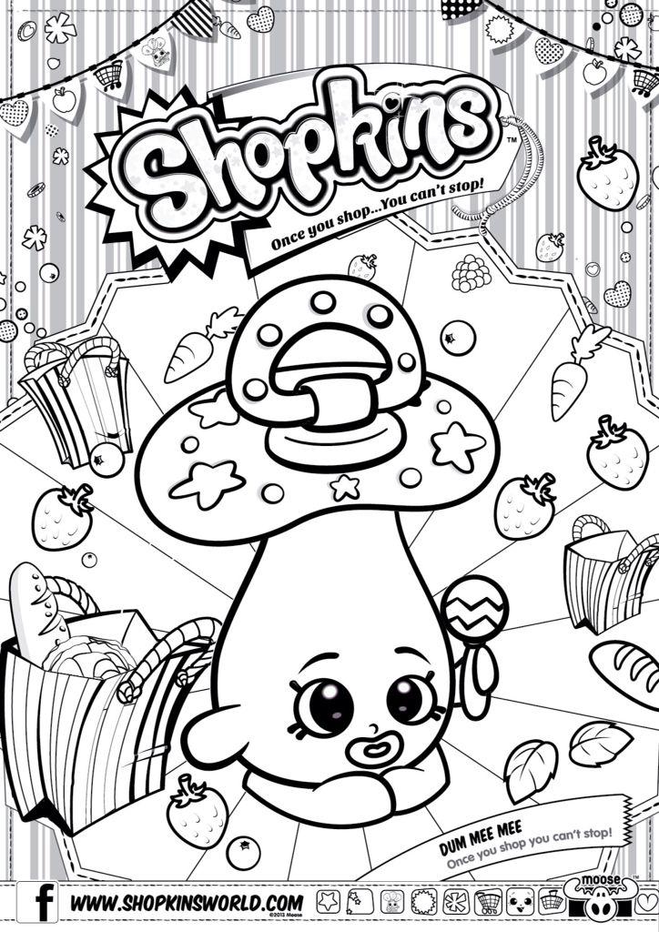 724x1024 Best Shopkins Coloring Pages Images On Kids Part