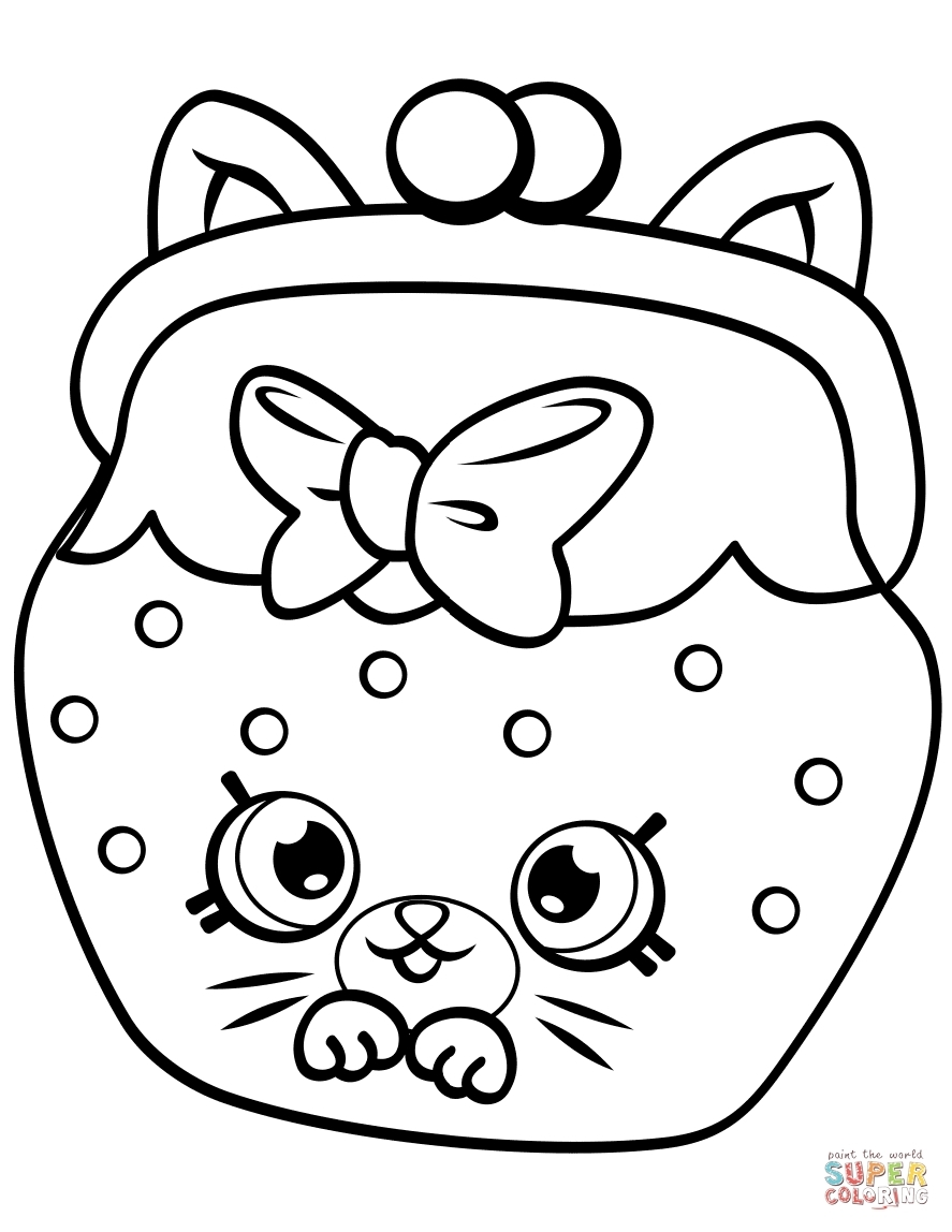 Shopkins Logo Coloring Pages