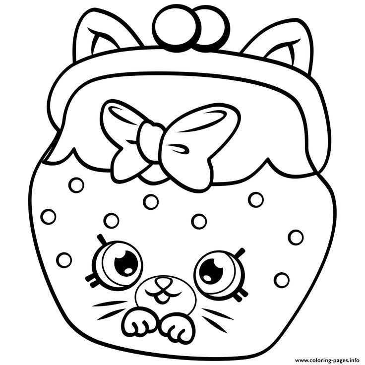 Shopkins Petkins Coloring Pages