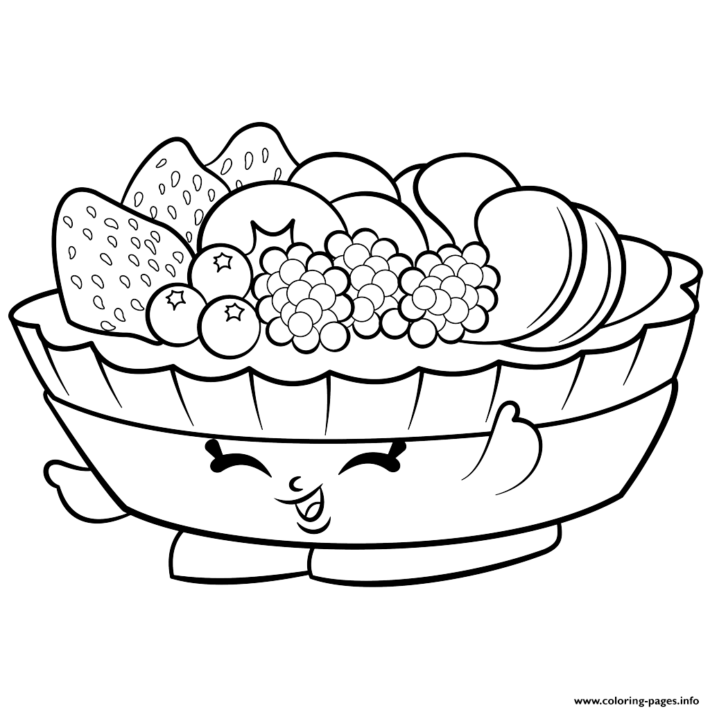 1024x1024 Print Exclusive Fifi Fruit Tart To Color Shopkins Season