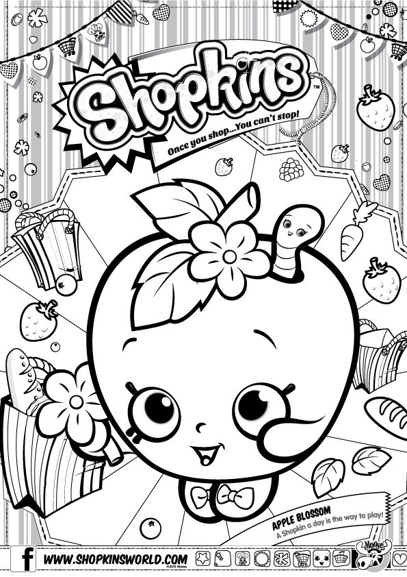 595x842 S Hopkins Toys Coloring Pages Shopkins Colouring Fun Here Are Some
