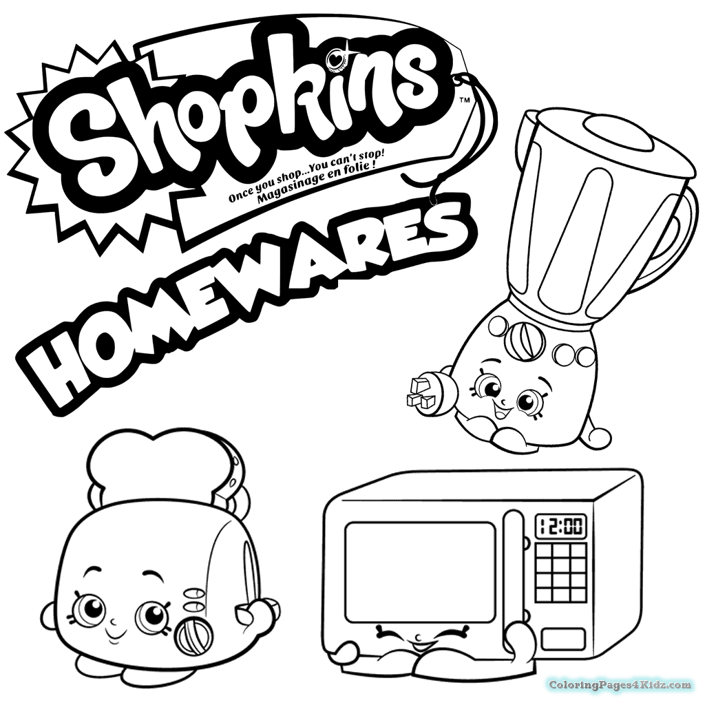 1024x1024 Shopkins Characters Season Coloring Pages Coloring Pages For Kids