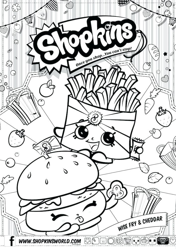 707x1000 Shopkins Season Coloring Pages Printable