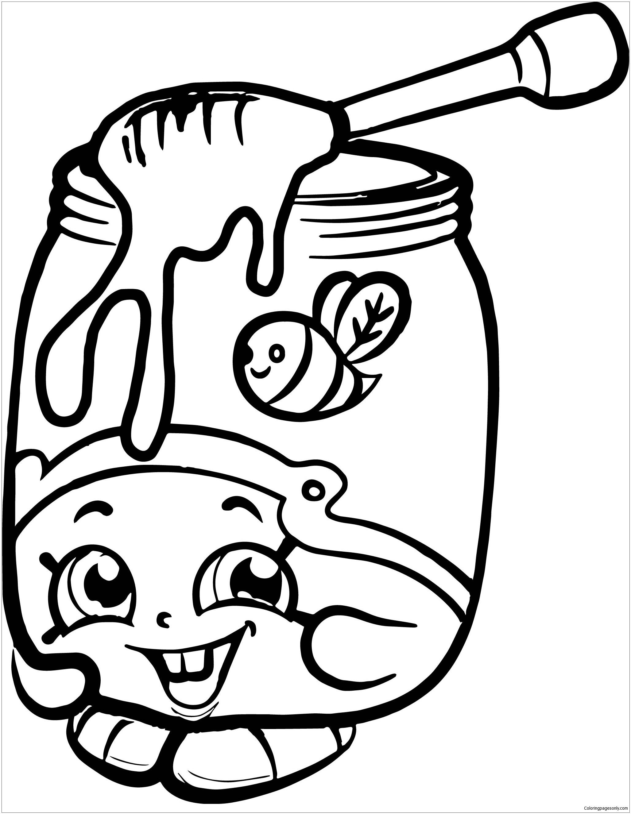 2056x2653 Coloring Pages Of Baby Shopkins Honeeey Shopkins Season