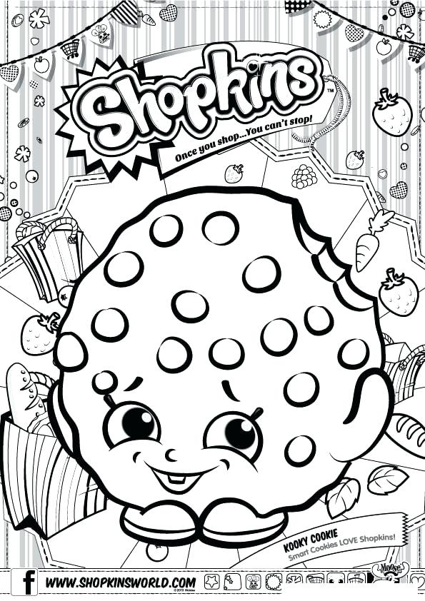 595x842 Coloring Pages Printable Chef Club Shopkins Coloring Pages
