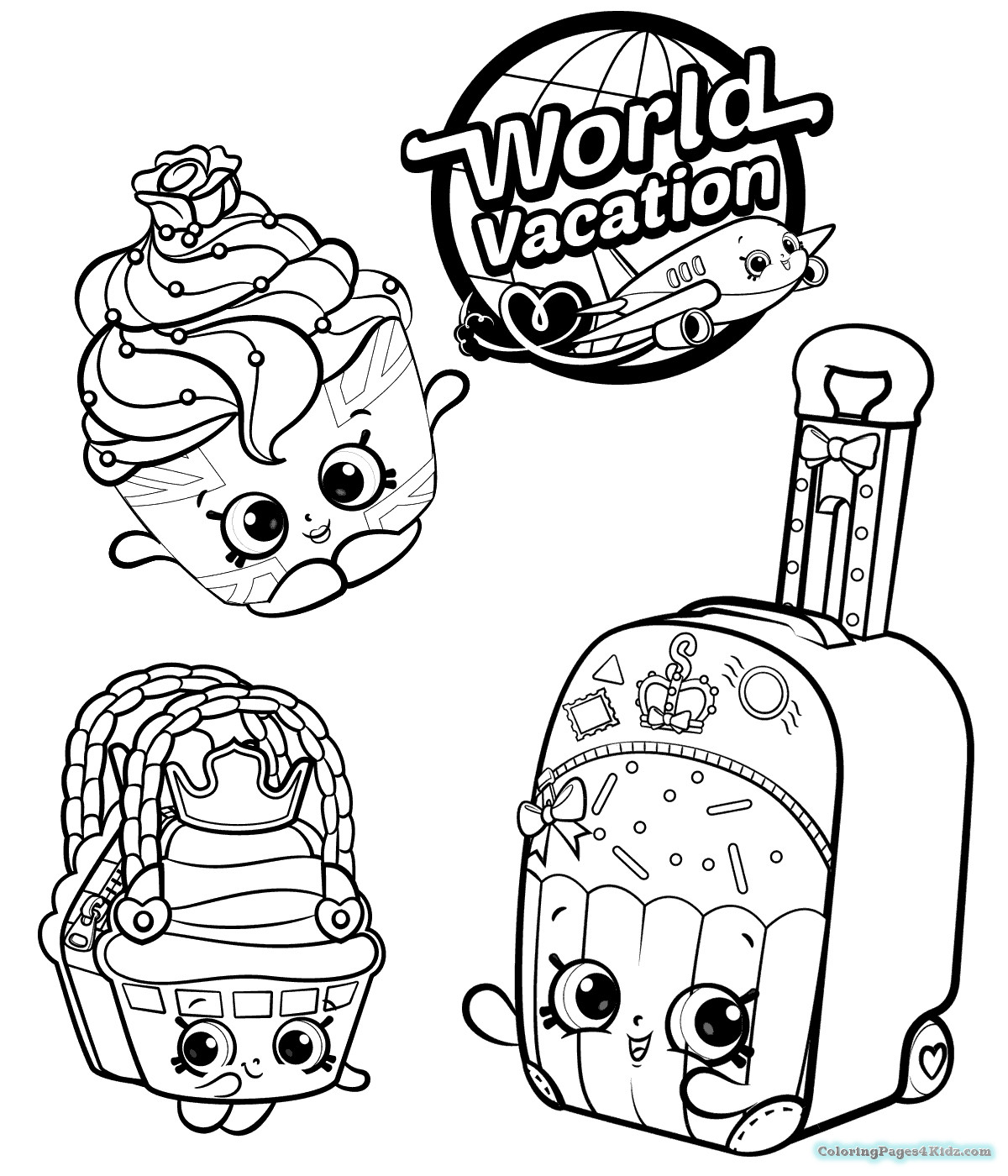Shopkins Season 3 Coloring Pages