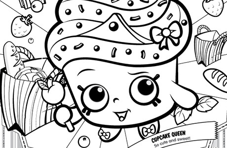 Shopkins Season 5 Coloring Pages At Getdrawingscom Free For