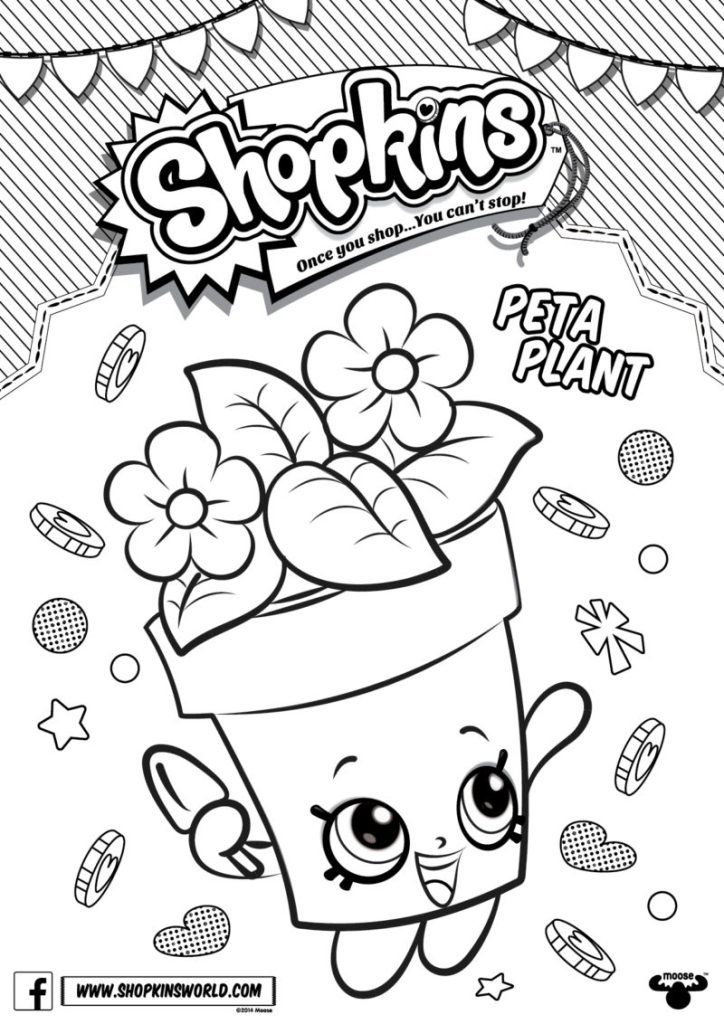 Shopkins Season 6 Coloring Pages At GetDrawings Free Download