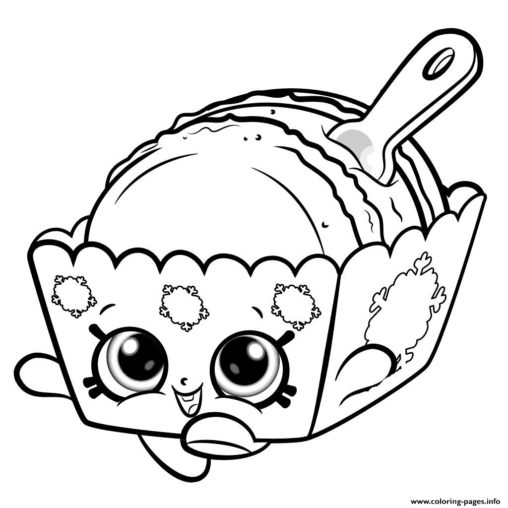 1024x1024 Melty Macaron Cute Shopkins Season Coloring Pages Printable