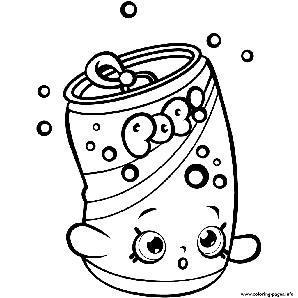 1024x1024 Print Soda Pops Shopkins Season For Kids Coloring Pages Sky