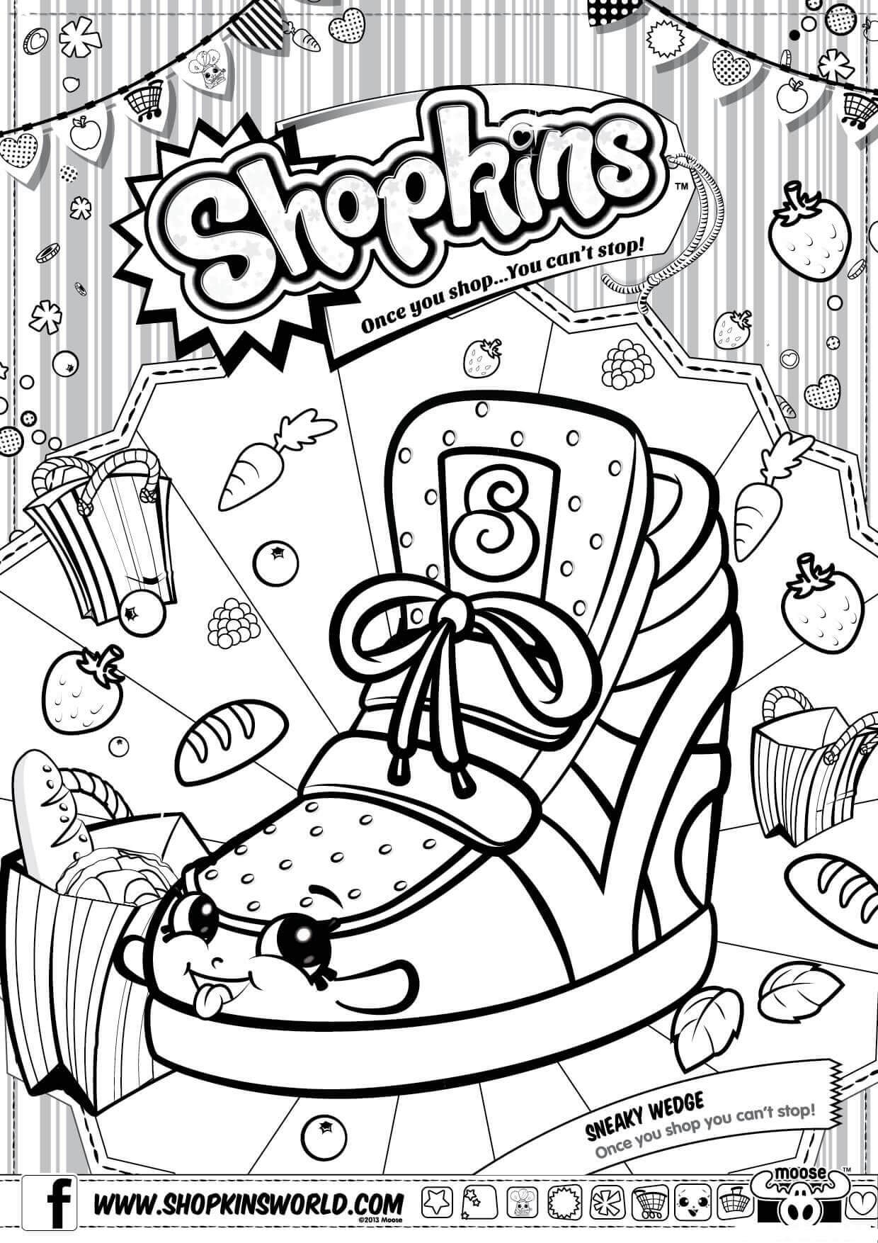 1240x1754 Shopkins Coloring Pages Download