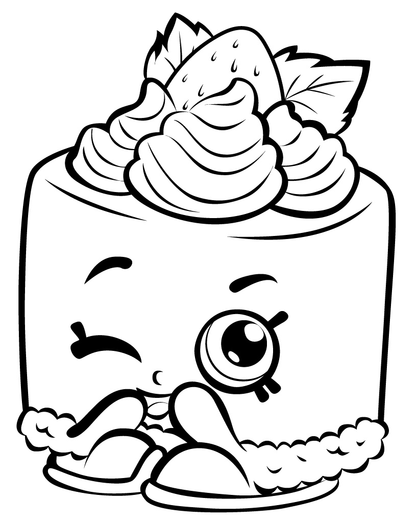 817x1024 Shopkins Coloring Pages