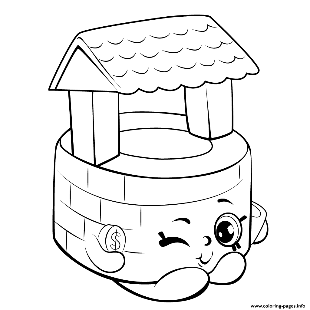 1024x1024 Shopkins Coloring For Kids Wishes Free