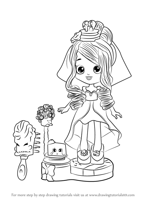 Shoppie Coloring Pages At Getdrawingscom Free For Personal Use