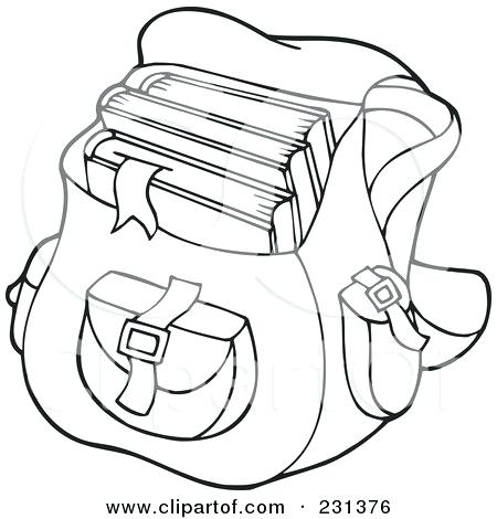 450x470 Bag Coloring Page Book Bag Coloring Page Grocery Bag Coloring Page