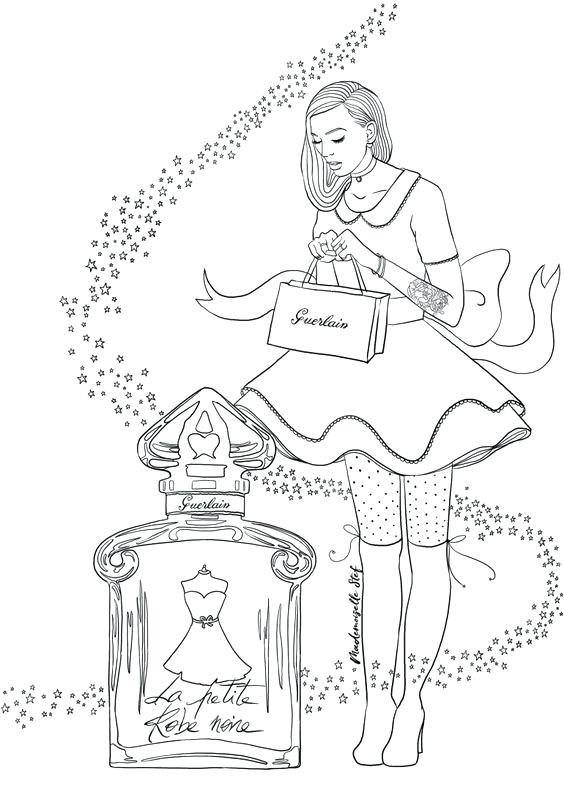 564x797 Shopping Coloring Pages Adult Shopping A Princess Coloring Page