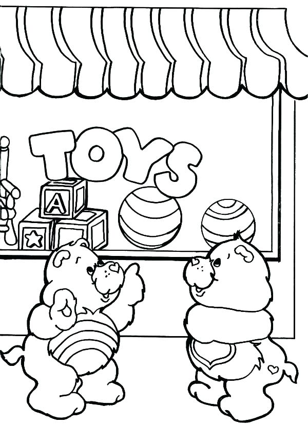 600x827 Shopping Coloring Pages Shopping Cart Coloring Page Shopping Bag