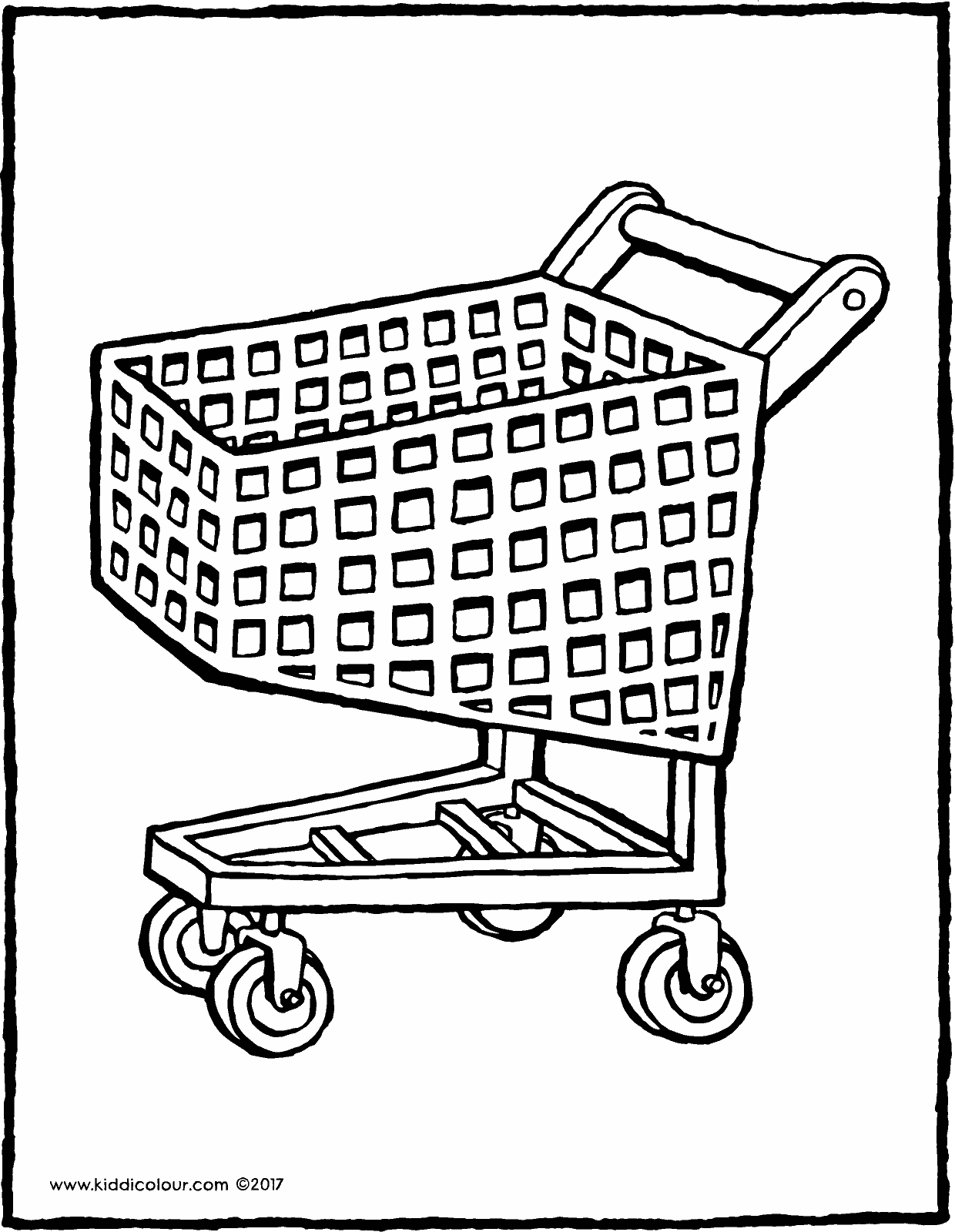 1240x1600 Shopping Trolley