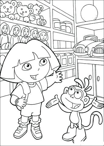 343x480 Store Coloring Page Click To See Printable Version Of Toy Store