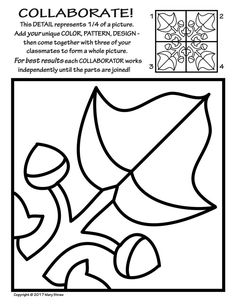 236x305 Radial Symmetry Collaborative Activity Coloring Pages Decorating