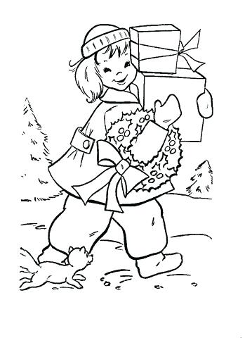 349x480 Shopping Coloring Pages