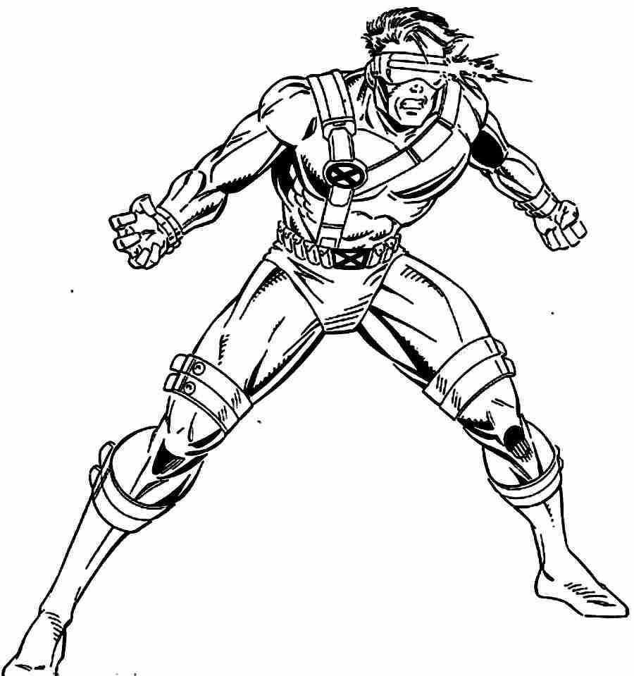 900x959 Coloring Pages X Men Xmen Tryonshorts Pictures Simple Olegratiy