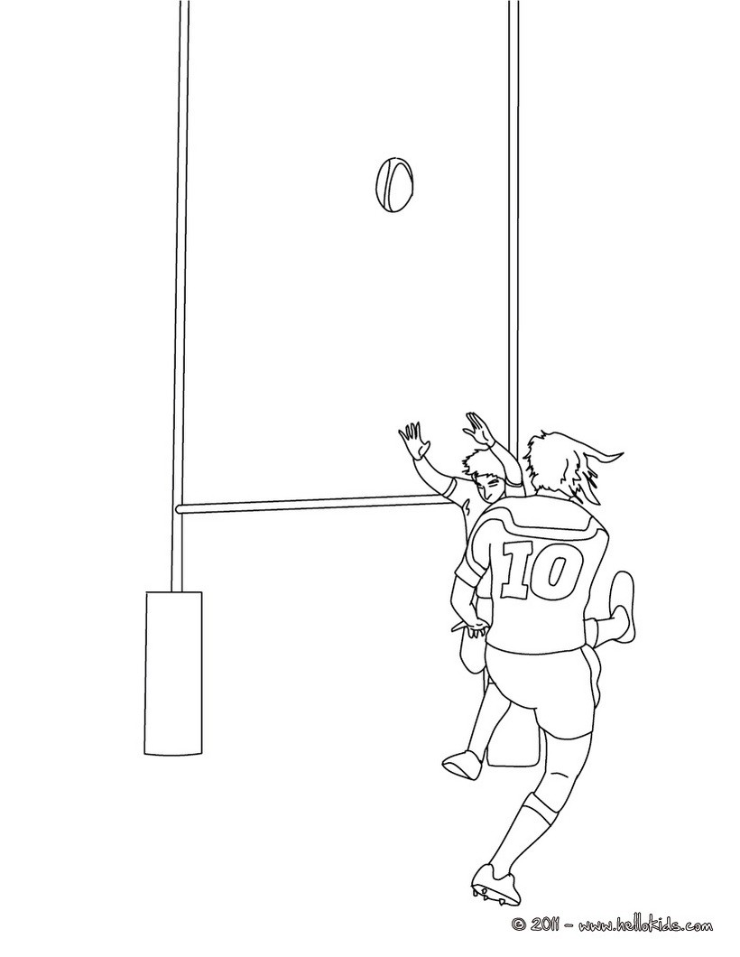 820x1060 Rugby Coloring Pages, Kids Crafts And Activities, Videos